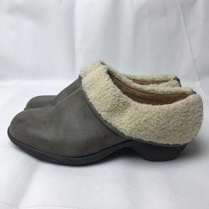 G.H. Bass & Co Slides Cozy Faux Fur Mules